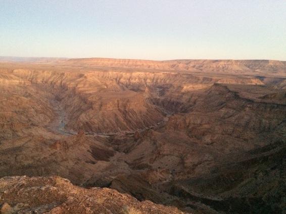 De Fish River Canyon.