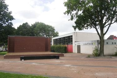 De gymzaal van de school staat er nog steeds. Deze is nu in handen van de Molukse gemeenschap.