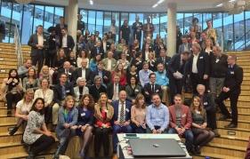 De meeste leden waren aanwezig bij de Round Table van 6 februari in Den Haag. Bron: Worldconnectors, 2017.
