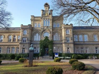 Een van de gebouwen van de faculteit der Sociale Wetenschappen.