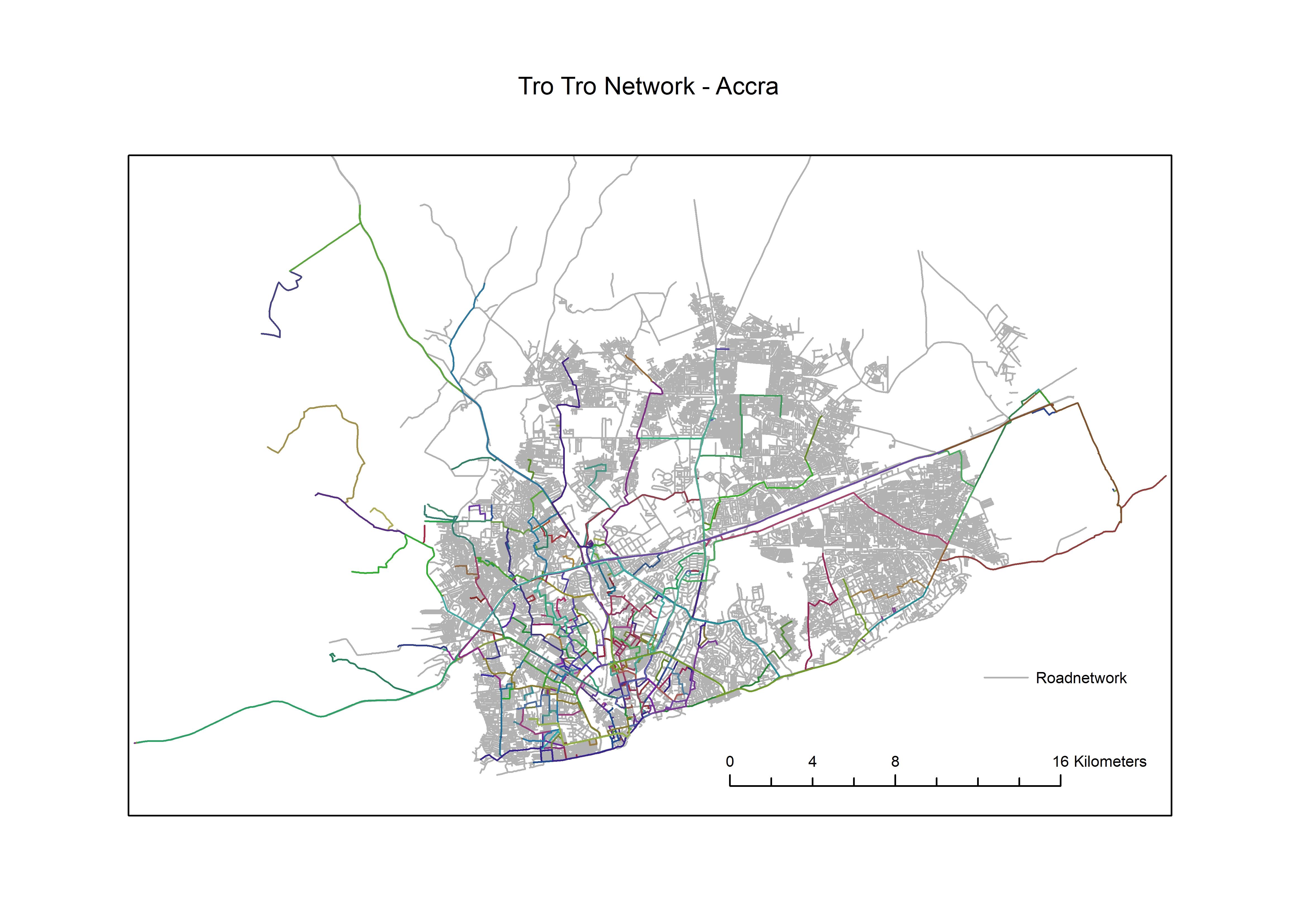 Openbaar Vervoer In Ghana In Kaart Brengen Een Enorm