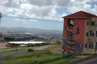 Uitzicht over een deel van voormalig District Six. Bron: Monica Kaneko (Flickr, cc).
