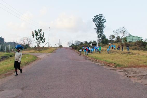 Onderwijs is een belangrijk onderdeel van de missie van Bulembu. Kinderen zoals deze worden opgeleid om later naar de universiteit of aan het werk te gaan. Bron: Ellen Boon.