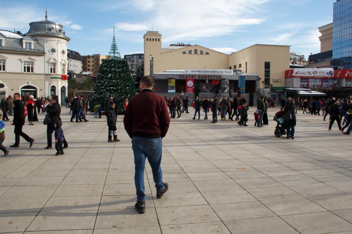 Kerst in Pristina